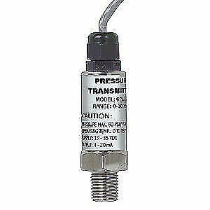 Transmitter,0 to15 PSI,36 In Lead DWYER INSTRUMENTS 628-07-GH-P1-E1-S1