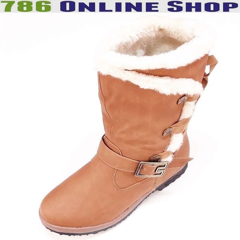 Damen Schuhe Boots winterschuhe (133B) winterstiefel stiefel Schuhe Neu