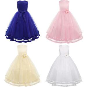 1aea04c1d Vestido Largo de Princesa para Niñas (2-14 años) Vestidos Infantil ...