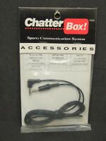 Vintage Chatter Box Helmet 40 50 90 Frs Audio Ext Cord