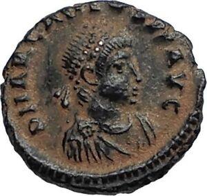 ARCADIUS-Authentic-Ancient-Genuine-383AD-Roman-Coin-of-Antioch-w-WREATH-i67088