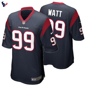 JJ Watt  99 Houston Texans Nike Game Jersey 2018 19 NFL New Season ... 11c278ecc