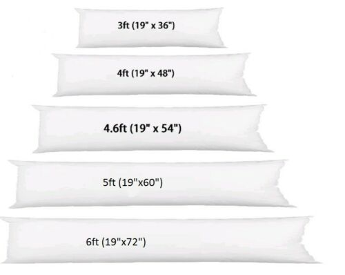 Bolster Extra Long Support Bolster Pillow Polycotton Cover Maternity Pregnancy