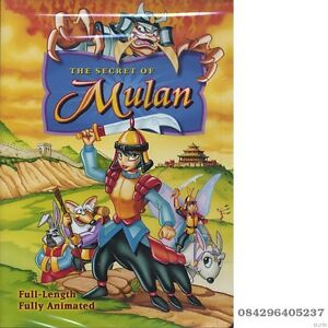 The-Secret-of-Mulan-animated-movie-2003-Sterling-Entertainment-new-dvd