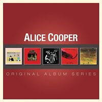 ALICE COOPER - ORIGINAL ALBUM SERIES: 5CD ALBUM SET (2012)