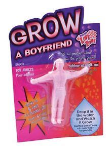 Grow Your Own Boyfriend Novelty Joke Secret Santa Gift Stocking Filler