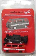 """Herpa 012591  Herpa MiniKit: VW T3 Bus """" Feuerwehr """""""