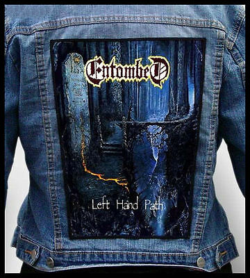 ENTOMBED - Left Hand Path  --- Back Jacket Patch backpatch