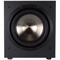 BIC Formula F-12 Powered Subwoofer Home Theater Speakers and Subwoofers