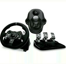 LOGITECHDriving Force G920 Xbox One & PC Steering Wheel Pedals & Gearstick