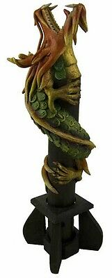 Smoke Breathing Dragon Incense cone burner, !FREE UK P&P! !FREE Incense!