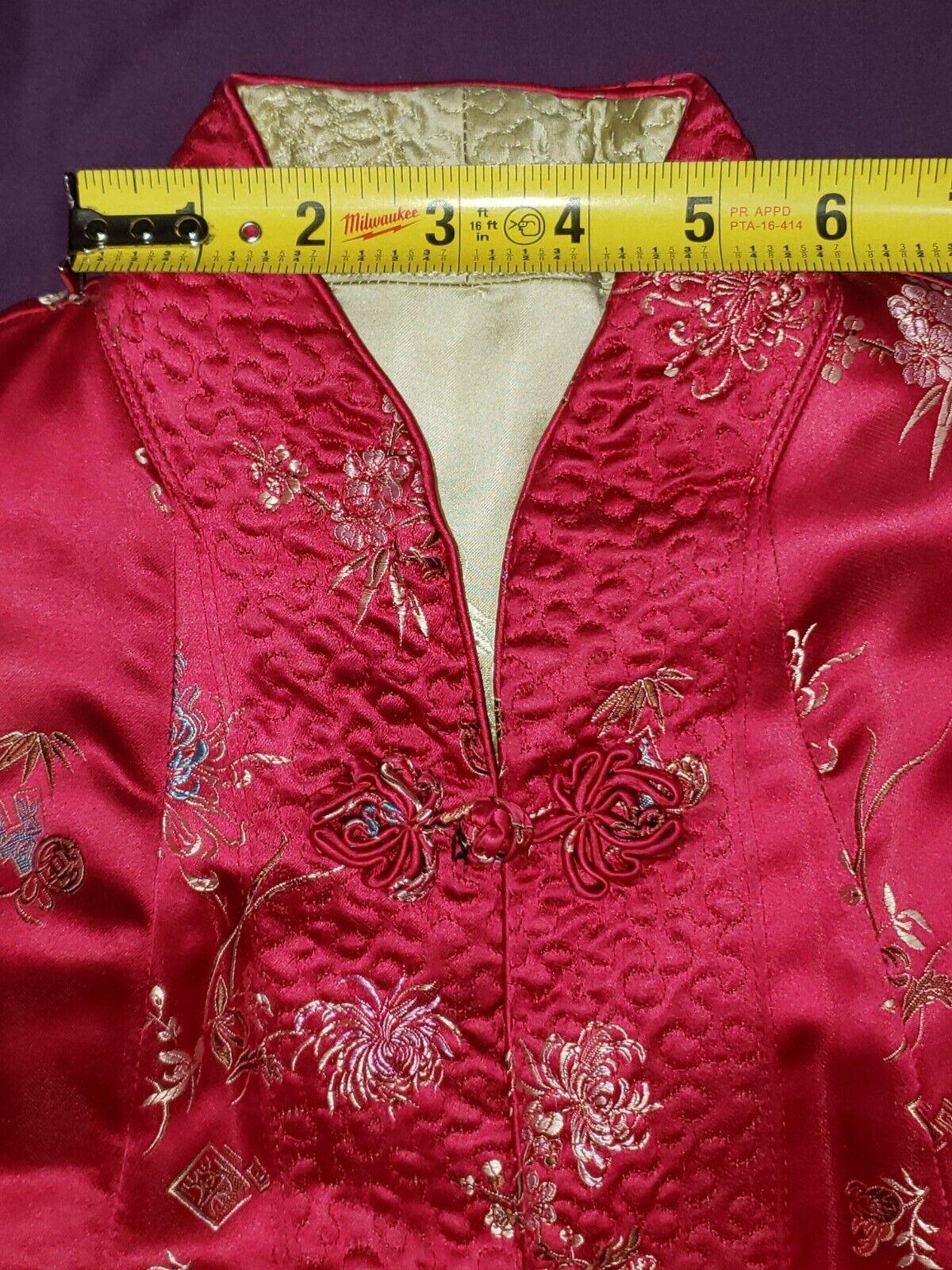 Qipao Long Sleeve Top Brocade - image 7