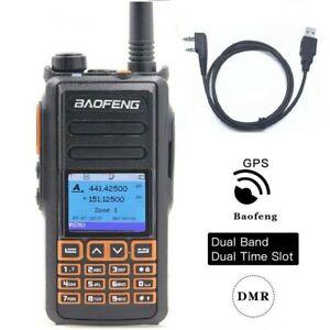 Baofeng-New-DM-760-GPS-Dual-Band-1-amp-2-Tier-Dual-Time-Slot-DMR-Analog-2-Way-Radio