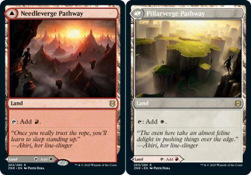 Needleverge Pathway //// Pillarverge Pathway Zendikar Rising