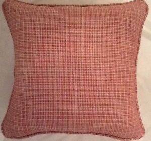 "Housse De Coussin Laura Ashley Gosford Cranberry 16/"" Piped Canneberge"