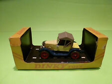 DINKY TOYS 476 MORRIS OXFORD 1913 BULLNOSE - RARE SELTEN - EXCELLENT IN BOX