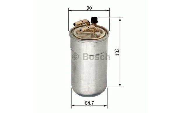 BOSCH Filtro combustible OPEL CORSA VAUXHALL CORSAVAN 0 450 906 503