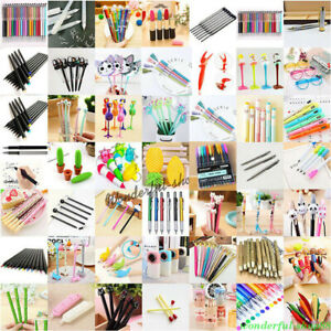 Lots-Styles-Ballpoint-Gel-Pen-Pencil-Writing-Stationery-Student-Office-Supplies