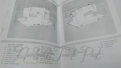 Kenmore Instructions Manual COPY for model 1230//1240//1250 Zig Zag Sewing Machine