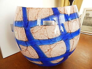 Waterford Crystal Evolution Kenya Menagerie Pocket Vase 8 Quot Bowl New Ebay