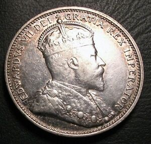 OLD-CANADIAN-COINS-RARE-1902-CANADA-TWENTY-FIVE-CENTS-FREE-SHIPPING-US-AND-CA