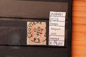 STAMPS-FRANCOBOLLI-BELGIO-BELGIUM-USATI-64-A38491