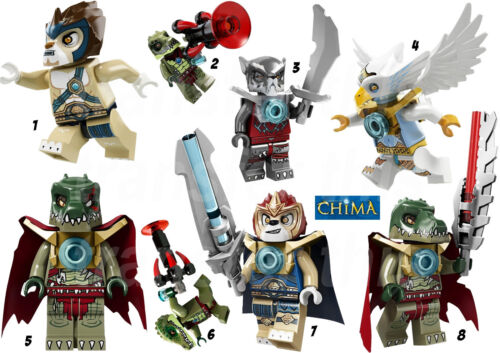 LEGO CHIMA STICKER AUTOCOLLANT OU TRANSFERT TEXTILE VETEMENT T-SHIRT #2