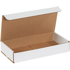 12 X 6 X 2 White Corrugated Mailers 200 Pieces