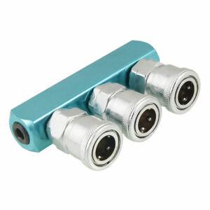 1-4-034-PT-Female-Thread-Dia-Aluminum-Socket-3-Pass-Air-Quick-Coupler