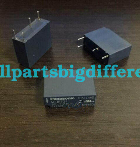 2pcs ALDP124 New Genuine 4Pins Relay DC24V