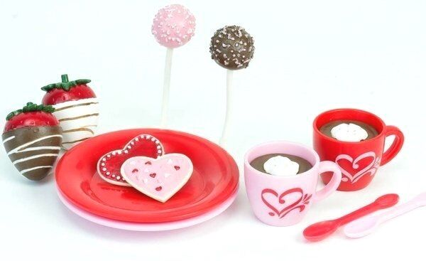 Hot Cocoa & Sweet Treats 12 PC 18 in Doll Food For American Girl