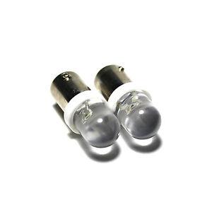 VW Polo 86C White LED 'Trade' Wide Angle Side Light Beam Bulbs Pair Upgrade