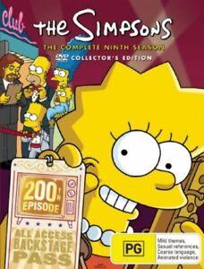 The-Simpsons-Season-9-Collector-039-s-Edition-DVD-NEW-Region-4-Australia