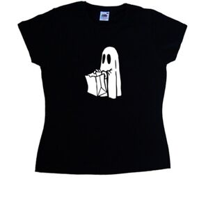 Ghost-Trick-or-Treat-Halloween-Ladies-T-Shirt
