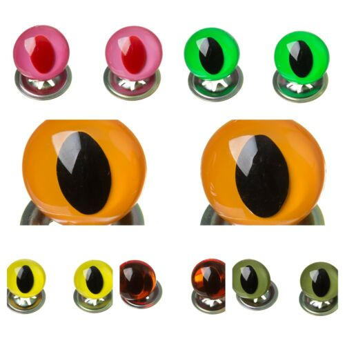 Stunning Bright Cats Eyes for Soft Animal Toys and Teddy Making Repairs