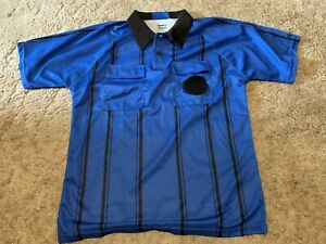Kwik Goal Blue Soccer Ref Jersey, Medium-afficher Le Titre D'origine Circulation Sanguine Tonifiante Et Douleurs D'ArrêT