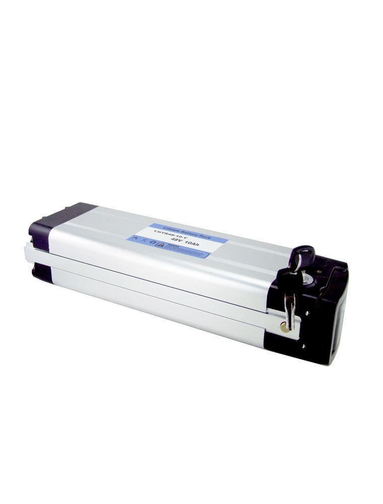 ULTRAMAX 48 Volt 10Ah Lithium Ionen Batterie mit Verschlussbar Bügel Bügel Bügel   Kostengünstiger  864f9d
