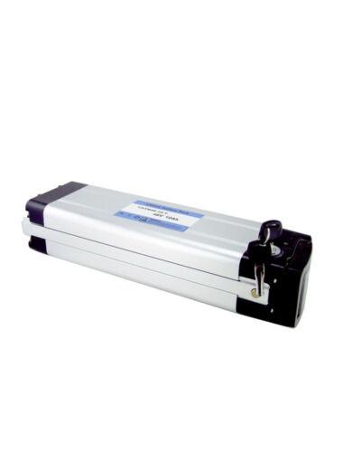 Ultramax 48V 10AH Silber Fisch Typ E-Bike Elektrisches Bike Lithium Batterie