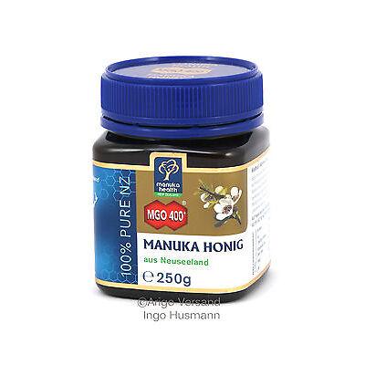 Aktiver Manukahonig MGO™ 400+ Manuka Honig aus Neuseeland, 250g