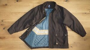 Xl Lauren Khaki Up Mens Coat Zip Chaps Ralph Size Jacket TJ3FuKl1c