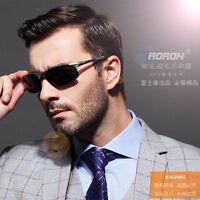 2016 Aluminium Aviator Polarized Sunglasses for Men Outdoor Driving Sun Glasses