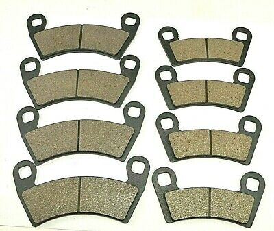 Front And Rear Brake Pad for Polaris RZR S 1000 Eps 2017//RZR S 900 Eps 2015-2017