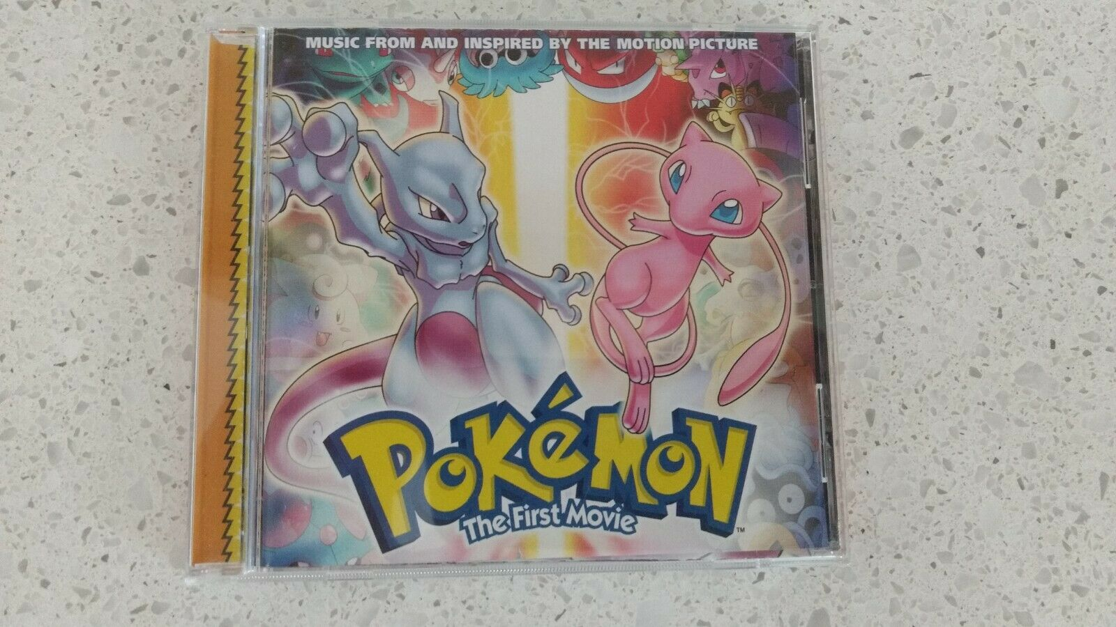 Pokemon The First Movie Original Motion Picture Soundtrack CD 4kids  Nintendo for sale online