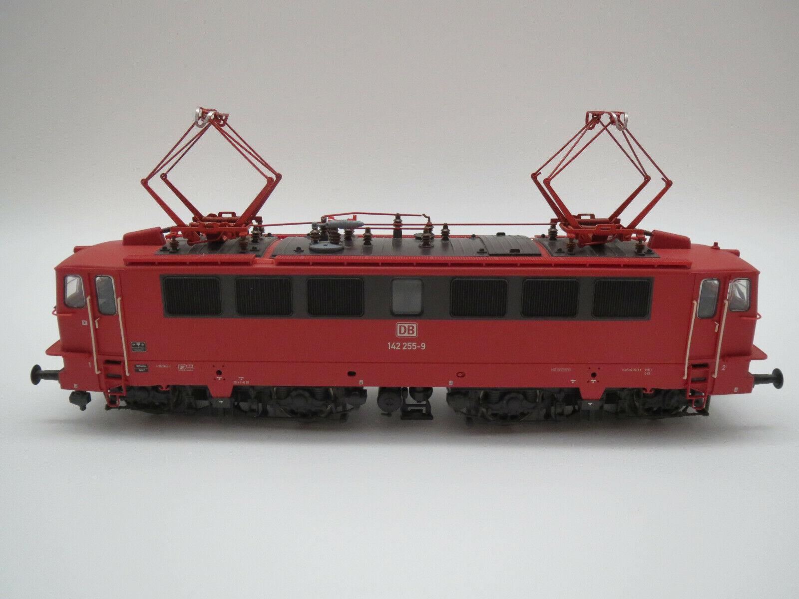 BRAWA H0 0203  E142 Elektrolokomotive - Betriebsnummer  DB 142 255-9  Rot - OVP-