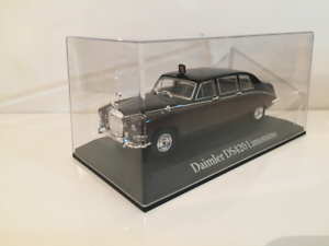 Daimler Ds420 Limousine Reine Mère 70 Norev Présidentiel Voitures