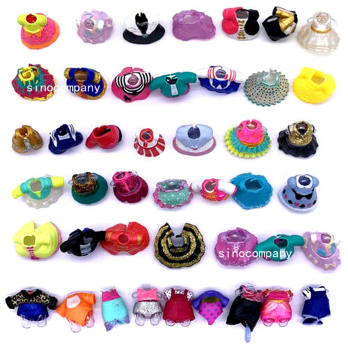Lol Surprise Funky QT confetti pop Doll /&Random dress shoes Bottle Girl/'s Gift