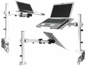 Tisch Halter Tablet Notebook Laptop passt für MacBook Tischhalter Ständer weiß