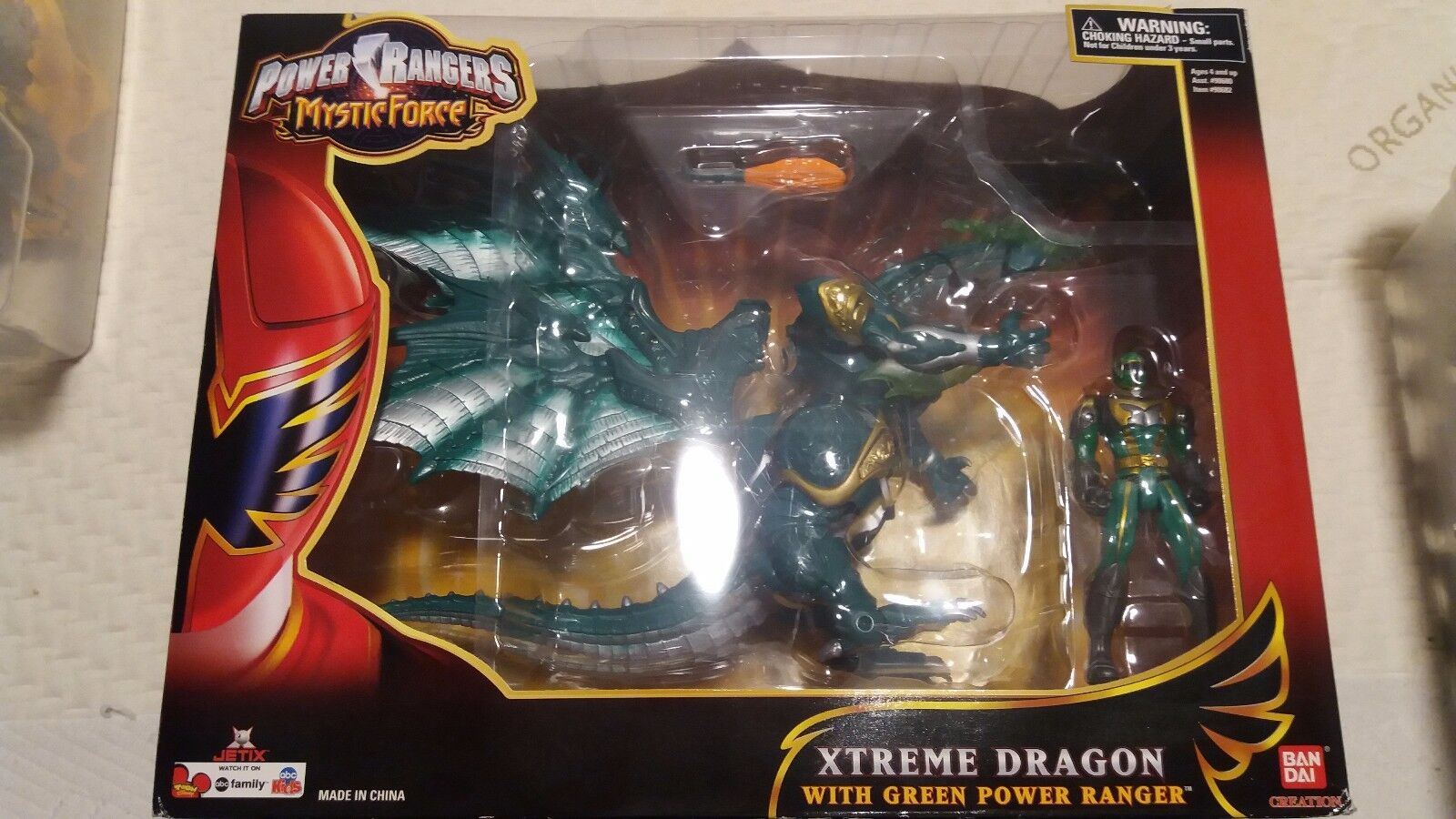 Power Rangers Mystic Force Xtreme Dragon with Grün Power Ranger NEW