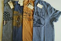 Lucky Brand Men's Fender/martin & Co./nashville Guitars Graphic T-shirts