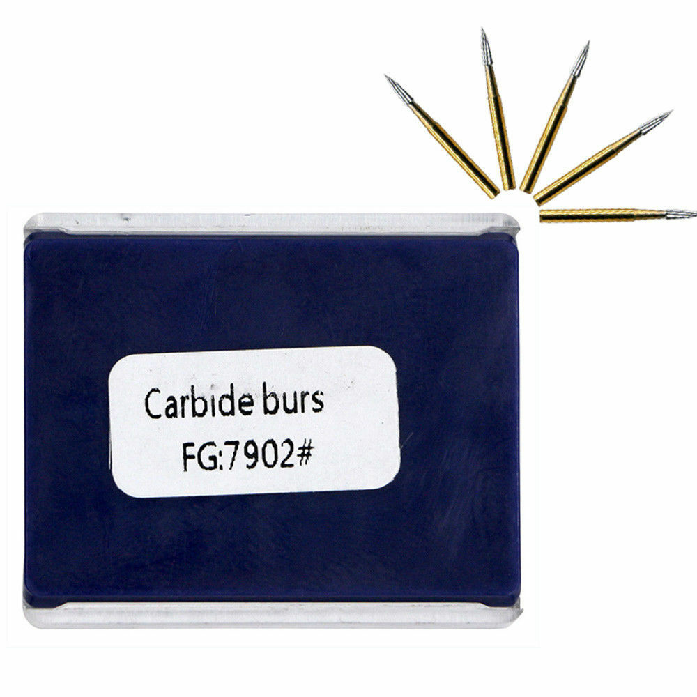10 paquetes de fresas de carburo de tungsteno recorte & & & forma de aguja de acabado FG7902 1b577d